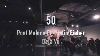 """50""Deja Vu/Post Malone Ft. Justin Bieber@En Dance Studio SHIBUYA"