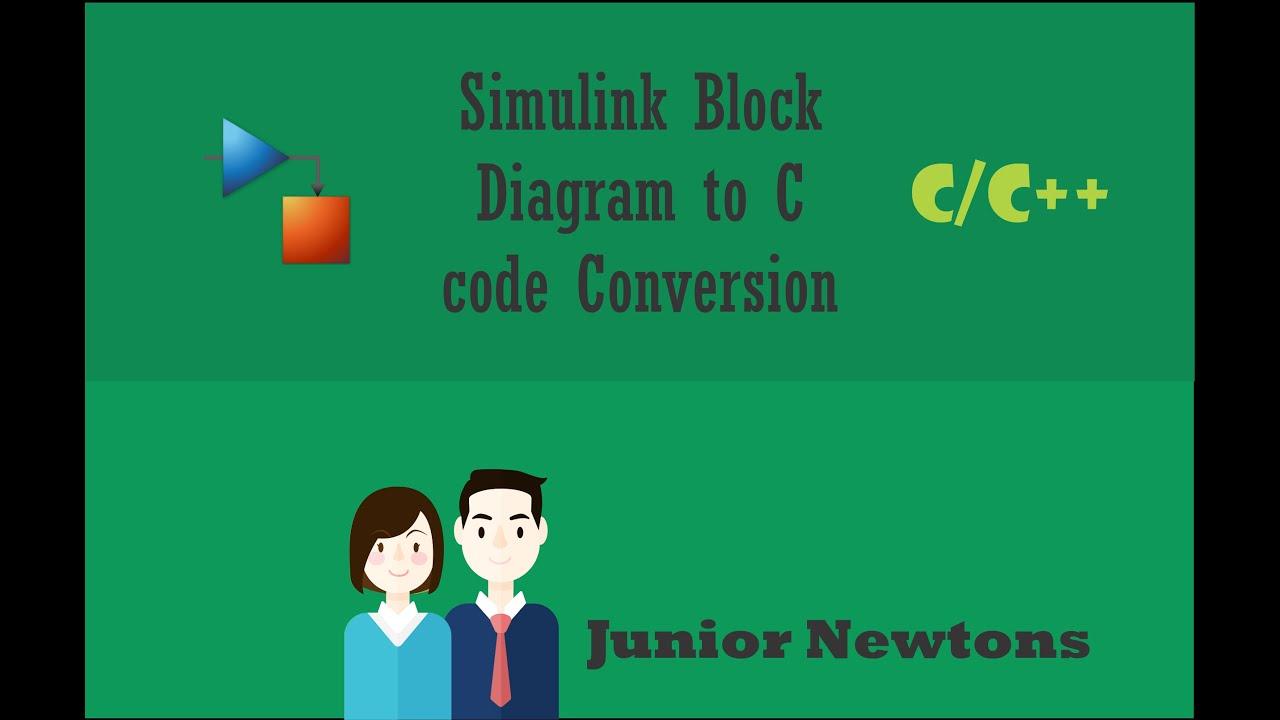 simulink block diagram to c code conversion Tree Structure Diagram