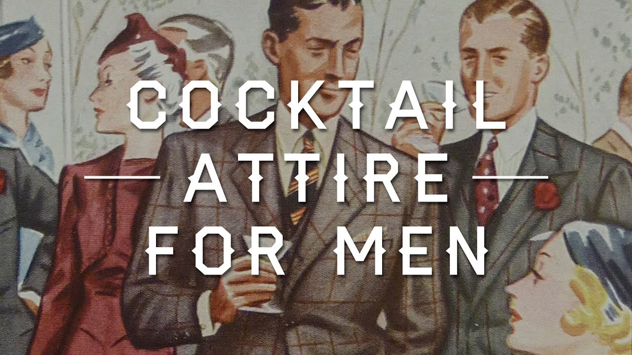 Cocktail Attire for Men - Wedding, Party & Event Dress Code Guide ...