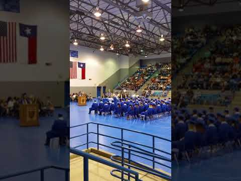 Childress High School 2018 Graduation Ceremony part 1 of 3