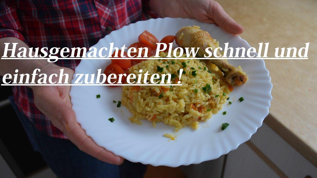Plov / Plow - Reis Topf mit Hähnchen Fleisch