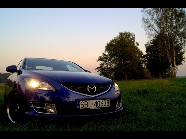 Test licznika (zegarów) Mazda 6 GH (HD)