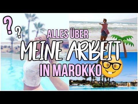 MEINE ARBEIT in MAROKKO - ich nehme euch mit! VLOG | MademoiselleLaura