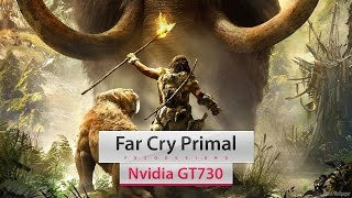 far cry primal on intel core 2 quad q8400 nvidia gt730