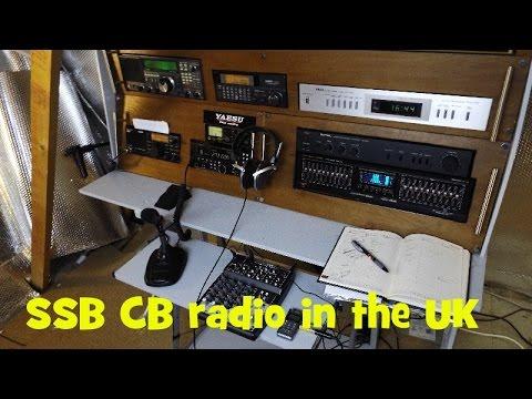UK CB RADIO on SSB.  Yaesu FT-450D
