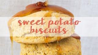 Vegan Southern Sweet Potato Biscuits | Vegan Soul Food