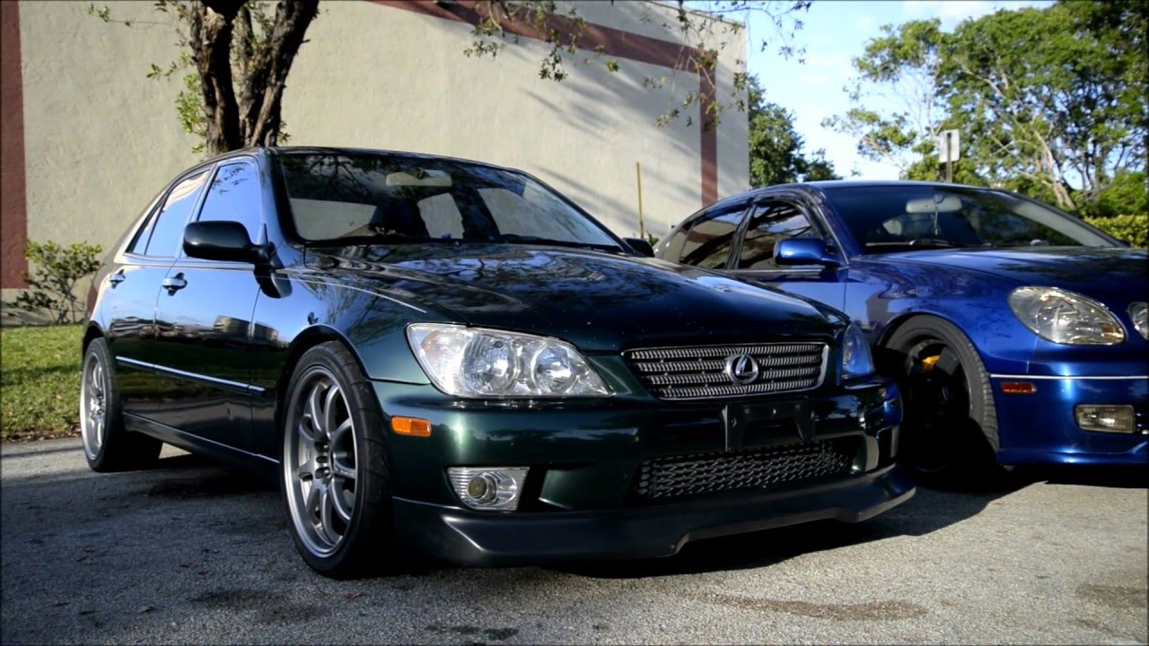 For Sale : Lexus IS300 with 1JZGTE – Perfect Starter Project! | DRAG