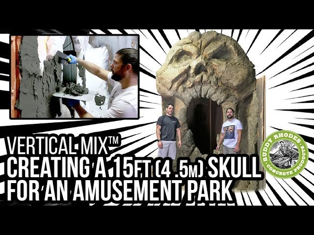 Creating a 15ft (4.5 m)Skull for an Amusement Park Haunted Attraction