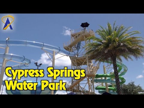 Cypress Springs Water Park at Gaylord Palms Resort