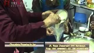 Cara Membuat Kue Chocolate Tiramisu Dalam Stoples - Cake In Jar