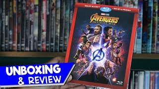 UNBOXING & REVIEW | AVENGERS INFINITY WAR (SLIPCOVER) Blu-ray + DVD