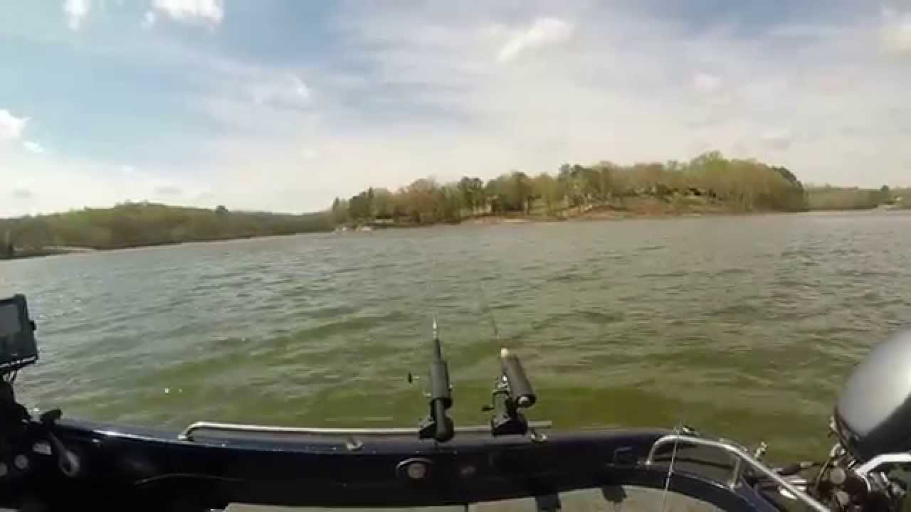 Gopro crappie fishing on kentucky lake april 2014 youtube for Kentucky lake crappie fishing report