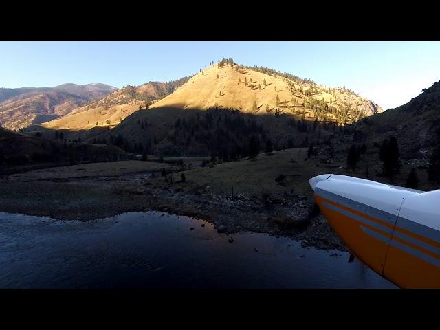 Salmon river flying