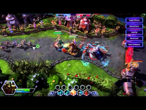Heroes Of The Storm - Map Glitch?