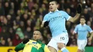 Video Gol Pertandingan Norwich City vs Manchester City