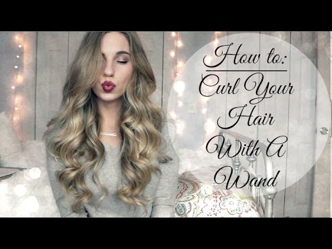 How To Curl Your Hair Using Curling Wand