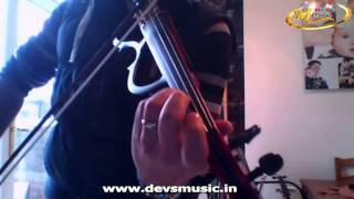 Violin tutorial Tum hi ho Ashiqui2 Lesson www.devsmusic.in Devs Music Academy
