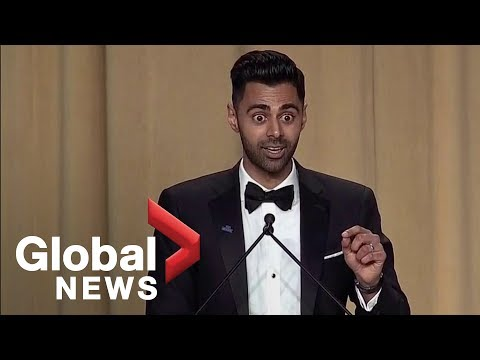 Daily Show's Hasan Minhaj White House Correspondents' Dinner ...