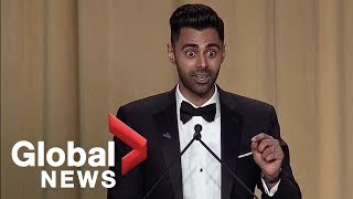 Daily Show's Hasan Minhaj White House Correspondents' Dinner full monologue by : Global News