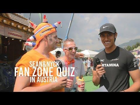 FanZone Quiz by Sean Gelael & Nyck De Vries