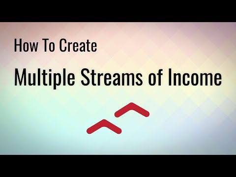 How To Create Multiple Streams of Income Online