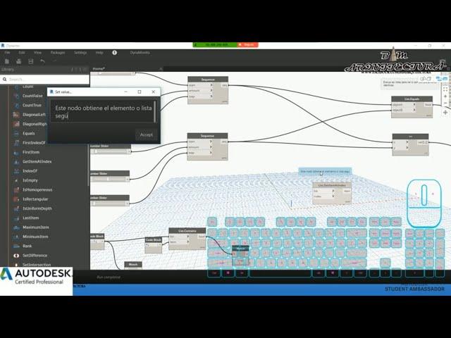 Clase 04 Dynamo para Revit Fundamentos