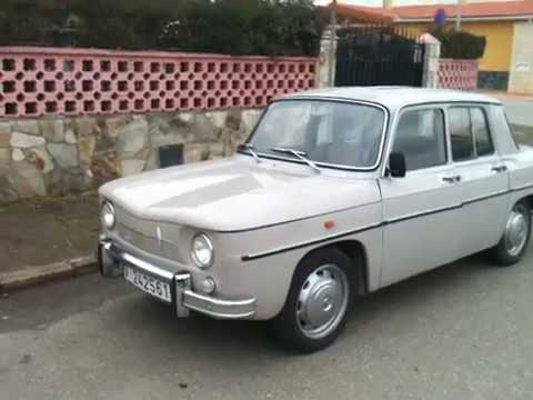 renault 8 1969 primera serie youtube. Black Bedroom Furniture Sets. Home Design Ideas