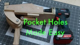 Pocket hole jigs, radical design change!