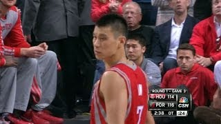 Lin, Harden hit jumpers to tie Game 3 vs. Blazers in overtime