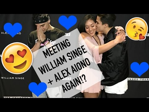 ALEX AIONO AND WILLIAM SINGE CHANGES TOUR EXPERIENCE l Los Angeles, CA l March 3rd 2017