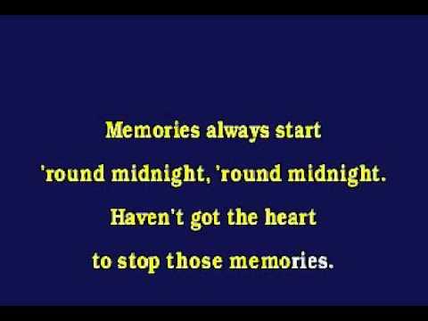 Jv0018 02   Jazz Standard   Round Midnight [karaoke]