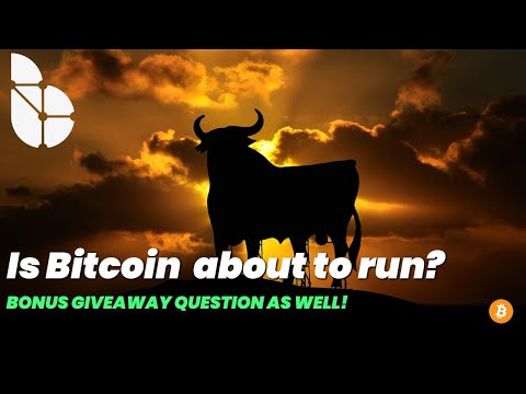 Is Bitcoin About To Go On A Run? Plus A BONUS GIVEAWAY Question For Our Listeners.