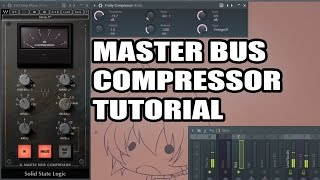 Waves SSL Bundle Tutorial - Part 1/3 - Master Bus Compressor