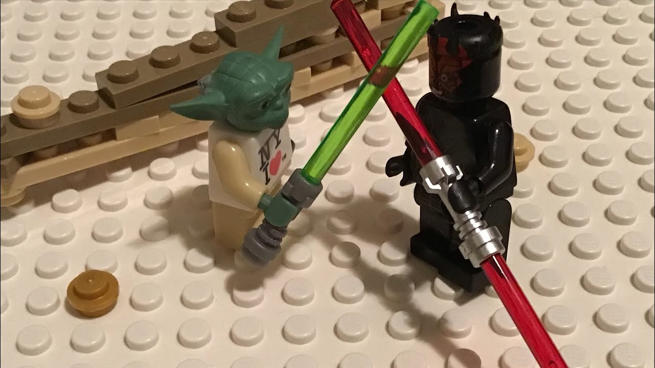 A LEGO star wars story #6 The rise of darth maul.