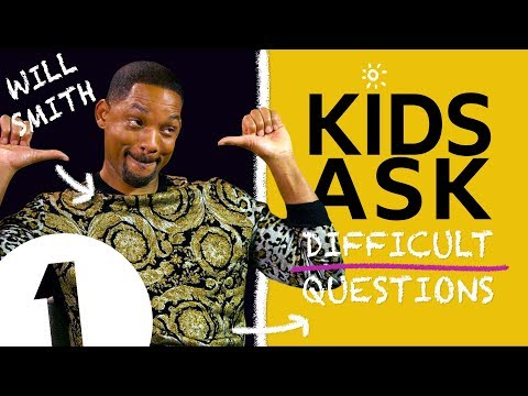 'That kid's gonna make it!!': Kids Ask Will Smith Difficult Questions