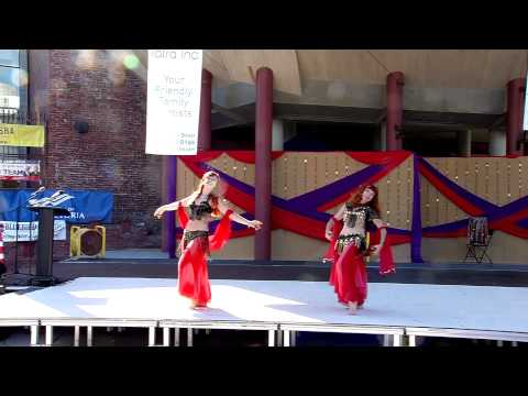 Azmira's School of oriental Belly Dancing-India mela 2014 Sunday-Island Video Victoria BC