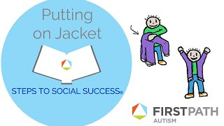 Steps to Social Success®: How To Put On a Jacket