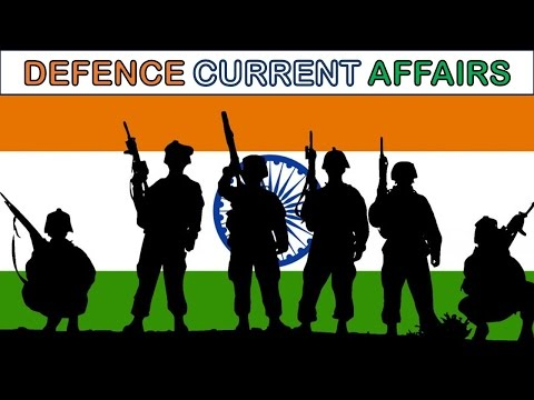 """Defence Current Affairs"" For Upcoming Exams !! - Study Capsule"