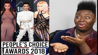 Best & WORST Dressed People's Choice Awards 2018 (whew chile)