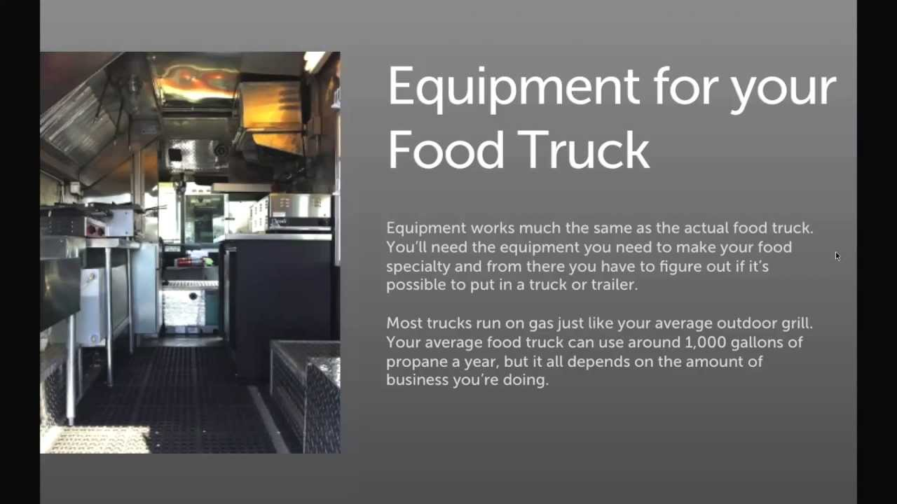 Starting A Food Truck Business Youtube