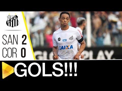 Santos 2 x 0 Corinthians | GOLS | Brasileirão (10/09/17)
