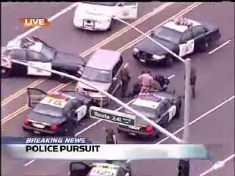 persecucion policiaca, policias pendejos