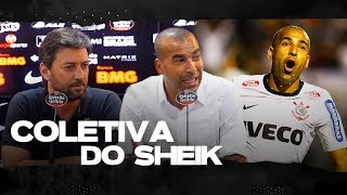 COLETIVA DE DESPEDIDA DO EMERSON SHEIK
