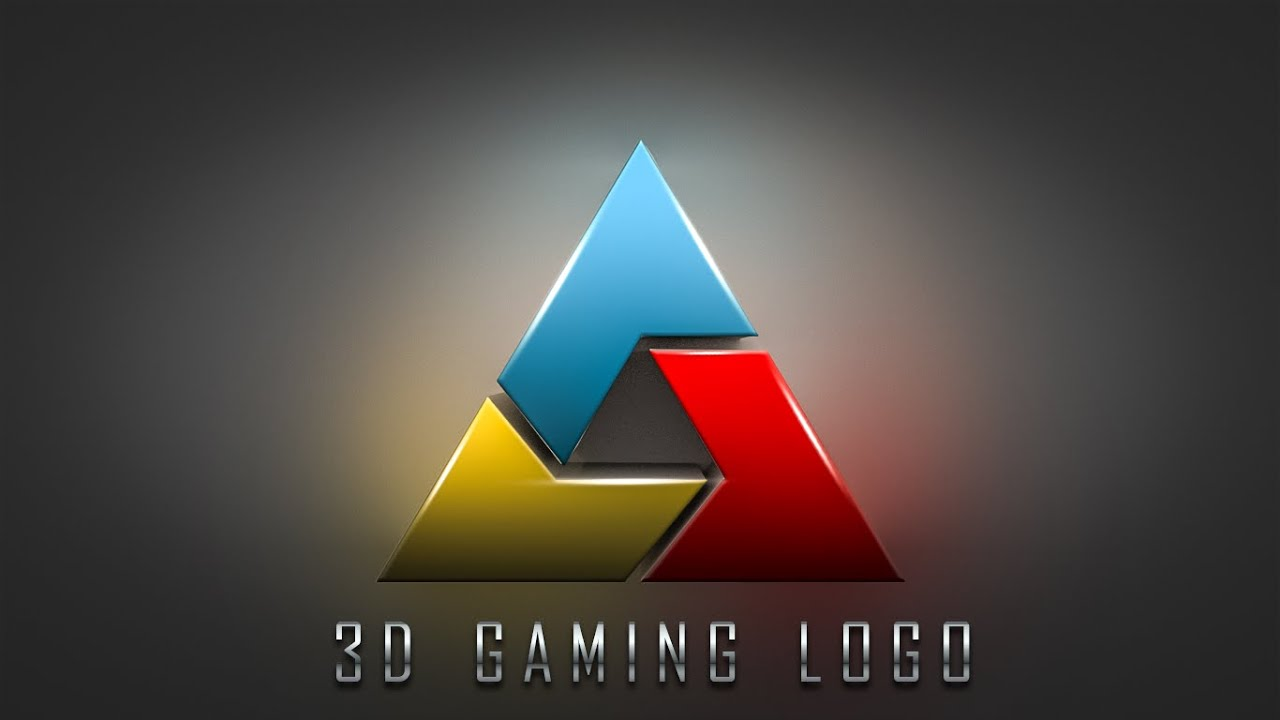 Top How to make 3D Gaming Logo Design | Photoshop CC Tutorial - YouTube AG56