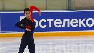 Роман Савосин Произвольная программа Мужчины Кубок России по фигурному катанию 2020 21