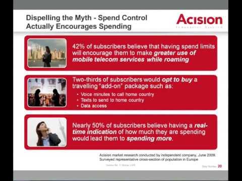 Real-time charging and spend control - empowering the consumer in the post-unlimited - WEBINAR