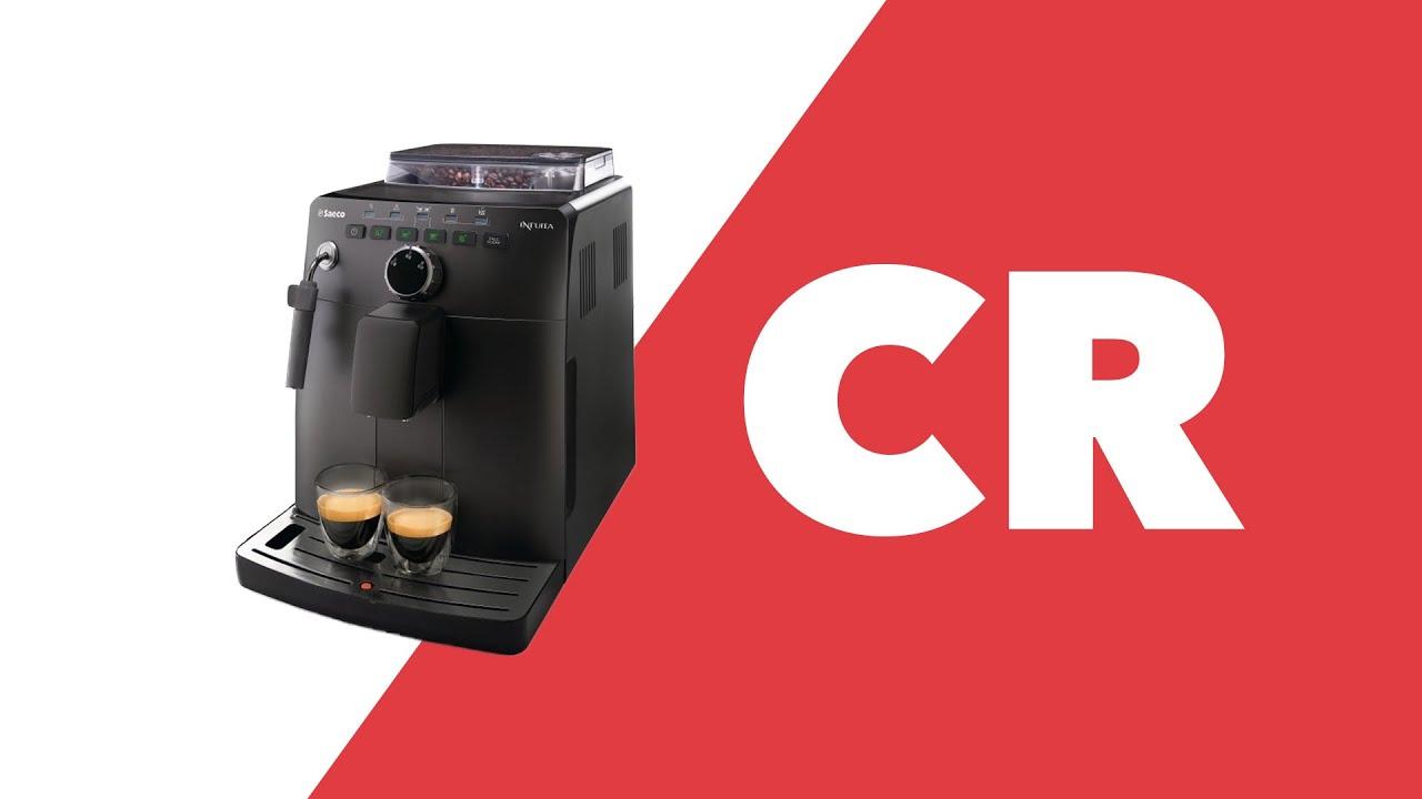 saeco intuita espresso machine