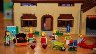 Review: LEGO The Simpsons House (Set 71006 LEGO Simpsons english)