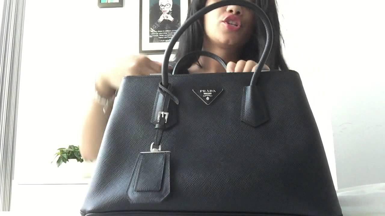 Black saffiano Prada tote for the best price - www.justlounge.com ... 10d04b3f97b2b