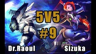 Sizuka X Raoul : NOUVEAU BUILD - Master X Master 5v5 #9